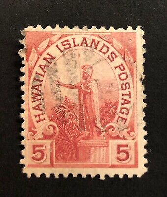 1893 Issue Hawaiian Islands Provisional Government Postage Stamp