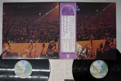 DEEP PURPLE LIVE IN JAPAN WARNER P-5506,7W Japan OBI VINYL 2LP