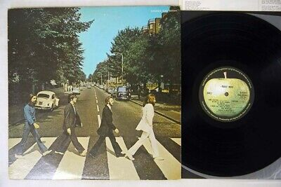 BEATLES ABBEY ROAD APPLE EAS-80560 Japan VINYL LP
