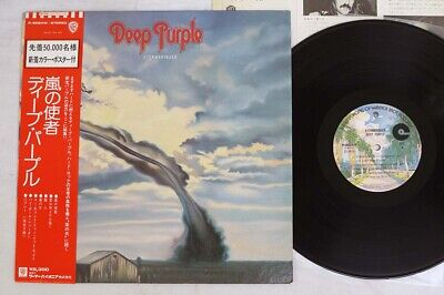 DEEP PURPLE STORMBRINGER WARNER P-8524W Japan OBI VINYL LP
