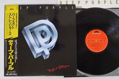 DEEP PURPLE PERFECT STRANGERS POLYDOR 25MM 0401 Japan OBI VINYL LP