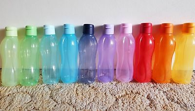 Tupperware - Eco On the Go 750ml x 5 Bottle (Water / Drink) - New 2L 1L 500ml