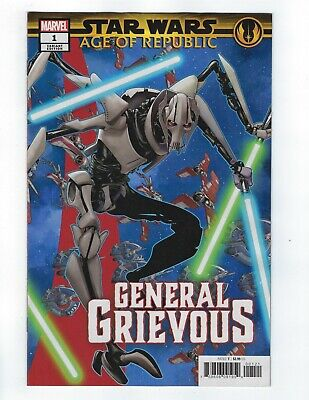 Star Wars Age Of Republic General Grievous # 1 Puzzle Variant NM