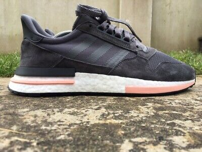 ADIDAS ® ZX 500 RM Size 10 UK EU 44 2 3 Mens Trainers Grey B42217 ... 7216e3536