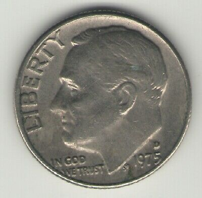 1975-D Roosevelt Dime - Circulated   #1
