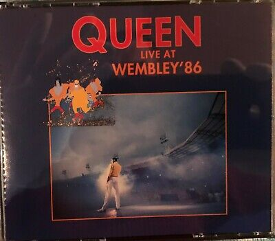 Queen ‎– Live At Wembley '86, Parlophone ‎– 0777 7 99594 2, 2 x CD, FIRST PRESS