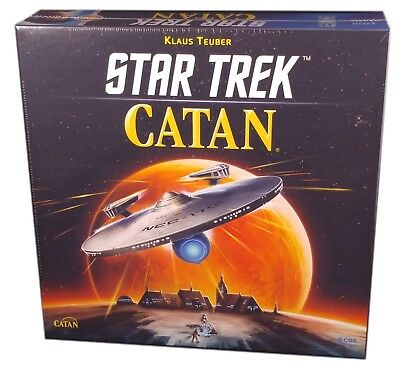 Mayfair Games, Star trek Catan , new and sealed, free shipping