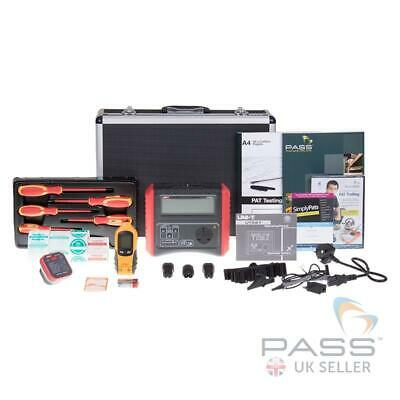 UNI-T UT527 Manual PAT Tester Professional Kit - DVD, 1500  Labels + Software!