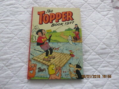 The Topper Book 1977 Hardback Comic Book