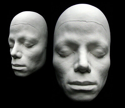 Michael Jackson Life Mask/Cast From Thriller Video, Sculptor William Forsche