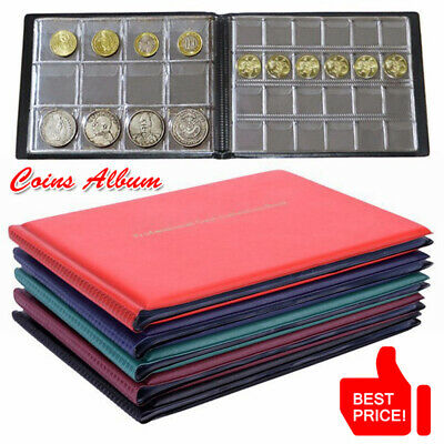 240 Album Coin Penny Money Case Folder Holder Collection Collecting Storage Book