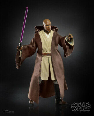 Star Wars Black Series Hasbro 6 Mace Windu Action Figure SHIPS LOOSE Ships 4/25
