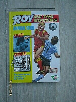 Vintage Roy of the Rovers Annual Dated 1989 Not Price Clipped