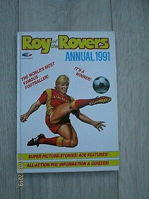 Vintage Roy of the Rovers Annual Dated 1991 Not Price Clipped