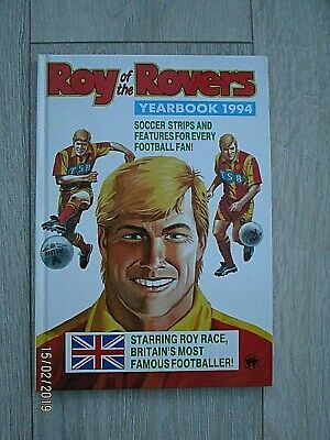 Vintage Roy of the Rovers Annual Dated 1994 Not Price Clipped
