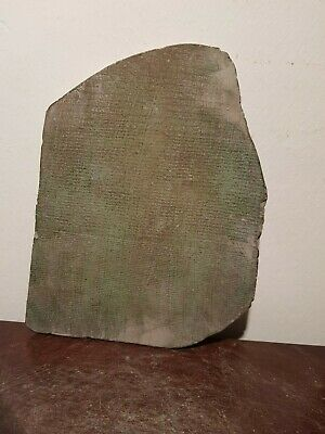 Rare Antique Ancient Egyptian Stela History Memphis City & Temples 1200-300BC