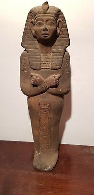 Rare Antique Ancient Egyptian pharaoh Ushabti work servant minions 1478–1458 BC
