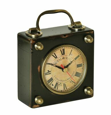 G512: English Travel Clock, Victorian Carriage Clock with World Time Zone, Watch