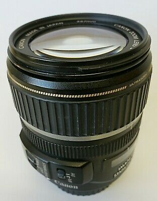 Canon EF-S 17-85mm f/4-5.6 IS USM Zoom Lens w/ Caps - As Is