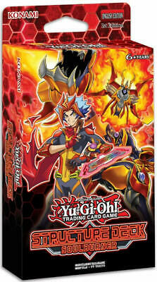 Yugioh Cards 1st EDITION SOULBURNER Structure Deck SDSB NEW SEALED IN HAND!!