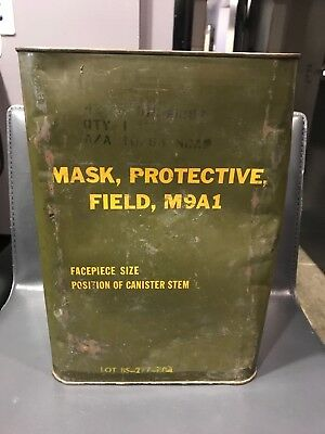 Mask Protective Field M9A1 Gas mask NOS