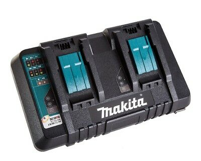 Makita DC18RD 18V LXT Li-Ion Dual Port Rapid Charger with USB for Mobile Phone