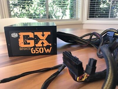 Coolermaster GX Power Supply 650w 80plus Bronze