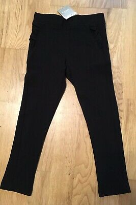 Next Black Trousers, Leggings. Frills. Age Size 5. BNWT NEW