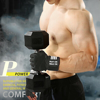 Wrist Wrap Support Gloves For Weight Lifting/Gym Sports/Training/Workout/Fitness
