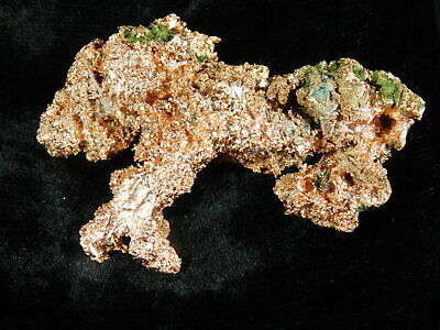 A 100% Natural Native COPPER Nugget Found in Michigan! 113gr e