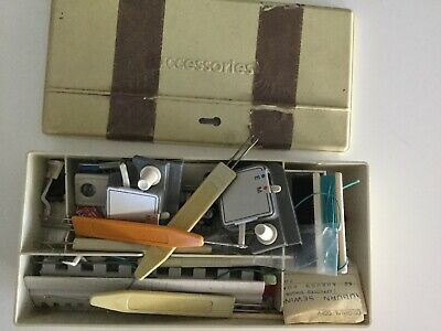 Vintage Knitting Machine Accessories Needles Attachment Mixed Lot