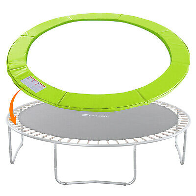 Trampoline Replacement Safety Pad Frame Spring Round Cover 12/15FT Light Green