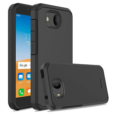 For Alcatel Tetra 6753B / 5041C Shockproof Hybrid Rugged Rubber Armor Case Cover