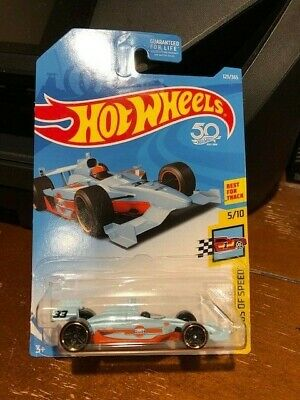 2018 Hot Wheels Legends of Speed Indy 500 Oval #123