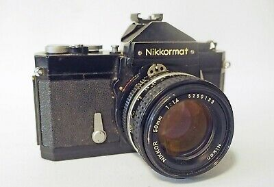 NIKKORMAT FT WITH f1.4 50mm LENS