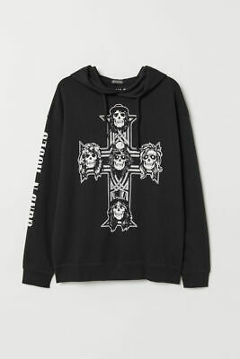 Takeyia Full-Zip Classic Pocket Hooded Sweater GNR Appetite for DestructionHoodie for Man