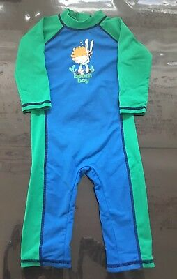 Kids full 50+ protection swimsuit - Cancer Council brand size 0 (hardly worn)