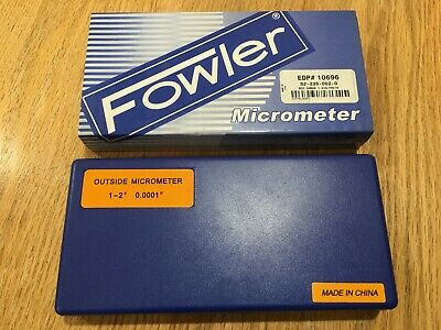 """Fowler 1-2"""" Outside Micrometer 52-235-002-2"""