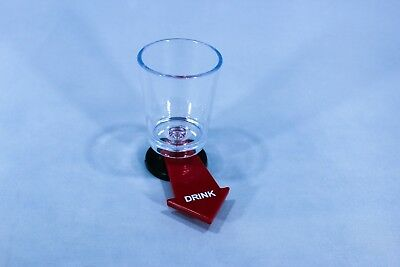 Fun Spinner Spin The Shot Roulette Glass Alcohol Drinking Game Party Gift LT