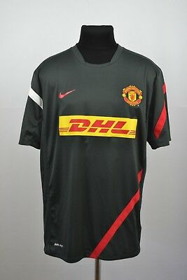 dc0ba42e2 Jersey Manchester United FC 2012 2013 (XL) Training DHL Nike Jersey Shirt  Maglia