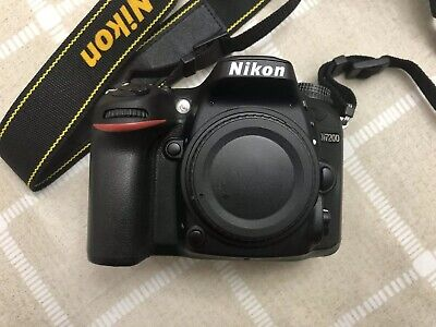 Nikon D7200 24.2 MP Digital SLR Camera - Black (Body Only)