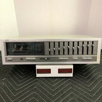 Jvc Sea-60 Stereo Graphic Equalizer - Cleaned - Tested - Excellent Condition