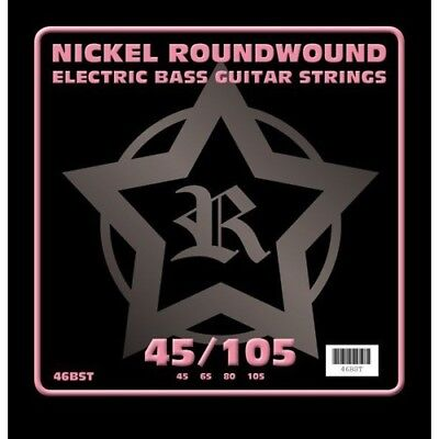 Rosetti Nickel Roundwound Electric Bass Guitar Strings - 45-105