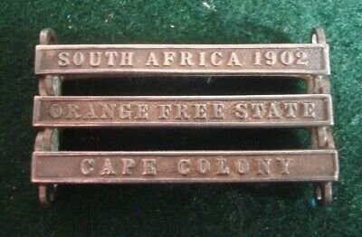 Queens South Africa Medal Campaign Bars South Africa 1902 - Ofs - Cape Colony