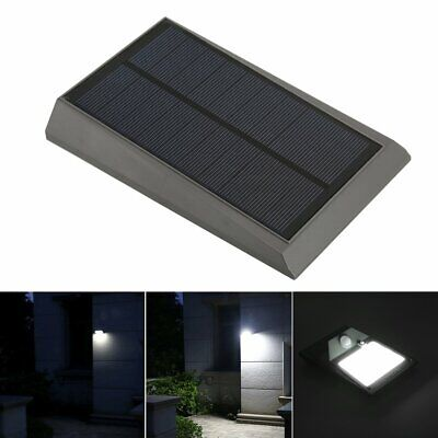 18 LED Waterproof Solar Power PIR Motion Sensor Wall Light Outdoor Garden Lamp