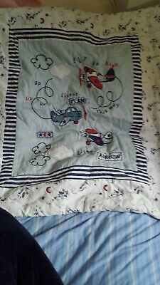 Boys Moses Basket Quilt