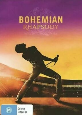 Bohemian Rhapsody DVD 2019 New & Sealed Free Postage
