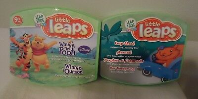 Lot of Four (2) Leap Frog Baby Little Leaps Learning System DVD