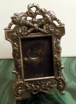FABERGE Antique Imperial RUSSIAN Photo frame, 84 silver.