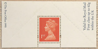 GB – 1995 First Class Stamp in Minisheet  (Se1)